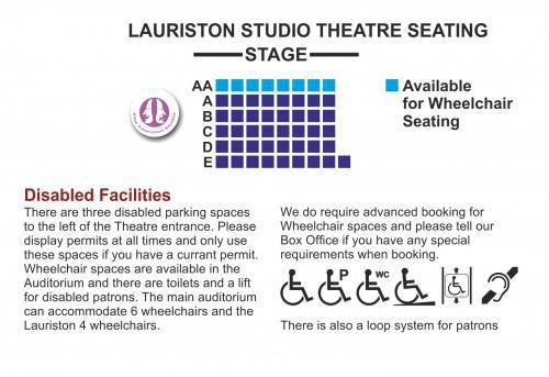 Lauriston Seating plan