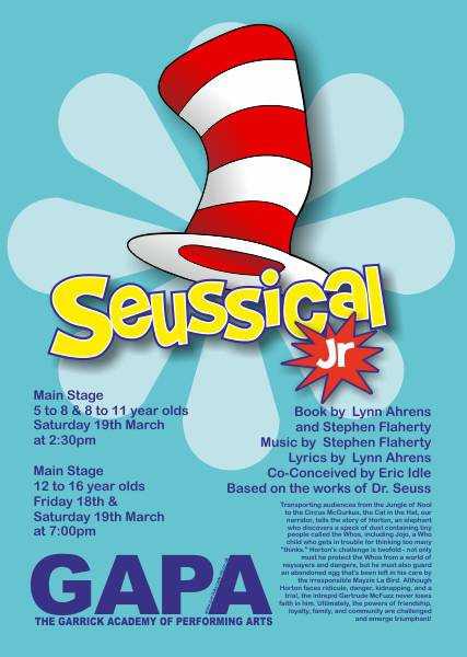 GAPA Seussical jr