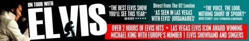 Elvis Show banner