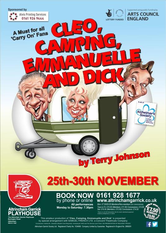 Cleo, Camping, Emmanuelle and Dick - Altrincham GarrickAltrincham
